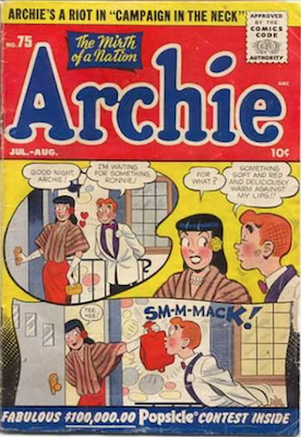 Archie Comics #75. Click for current values.