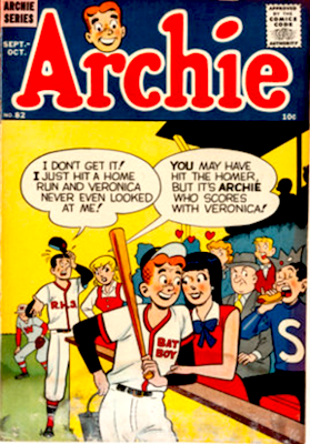 Archie Comics #82. Click for current values.