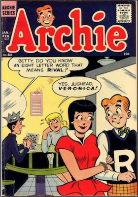 Archie Comics #84. Click for current values.