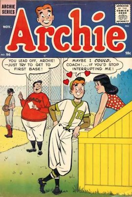 Archie Comics #96. Click for current values.