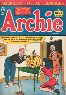 Archie Comics #18. Click for current values.