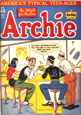 Archie Comics #22. Click for current values.