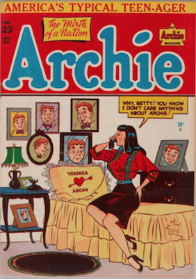 Archie Comics #23. Click for current values.
