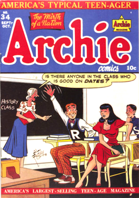 Archie Comics #34. Click for current values.