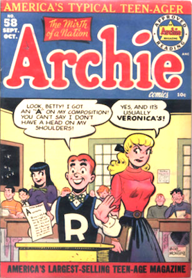 Archie Comics #58. Click for current values.