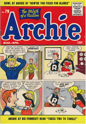 Archie Comics #79. Click for current values.