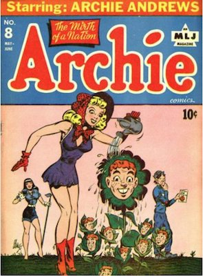 Archie Comics #8. Click for current values.