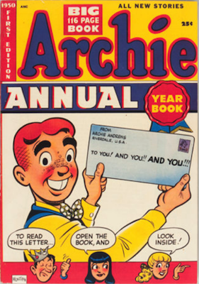 Archie Annual #1: rare in high grade. Click for values