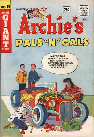 Archie's Pals and Gals #19 by MLJ. Monroe appearance. Click for values