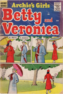 Archie's Girls Betty and Veronica #39. Click for current values.