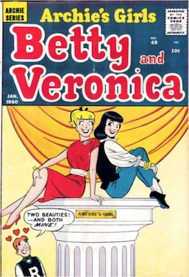 Archie's Girls Betty and Veronica #49. Click for current values.