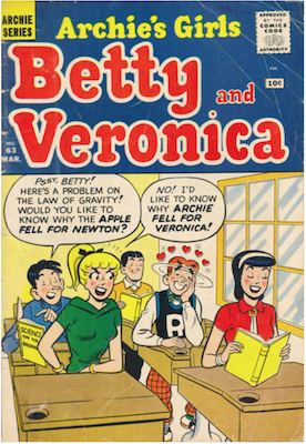 Archie's Girls Betty and Veronica #63. Click for current values.