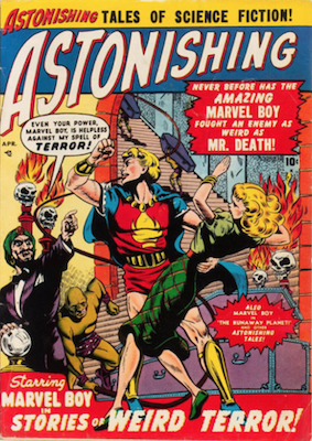 Astonishing #3: Marvel Boy stories continue. Click for current values.