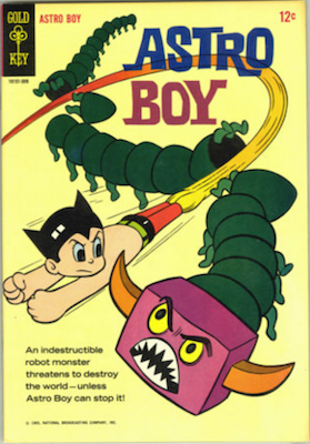 Astro Boy #1, Gold Key. Click for values