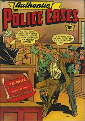 Authentic Police Cases #13: Matt Baker. Click for values