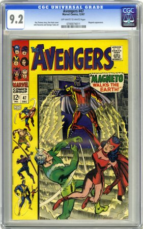Avengers 47 is relatively affordable in high grade, so we recommend looking for a CGC 9.2. Click to buy a copy