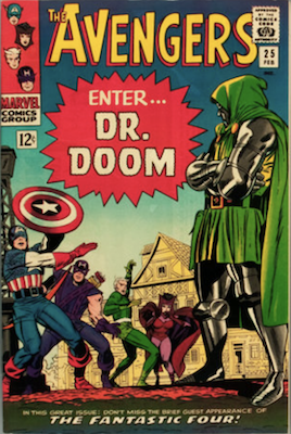Avengers comic book 25: Doctor Doom. Click for values