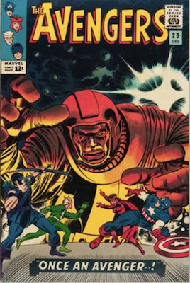 Avengers comic 23. Click for values