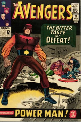 Avengers comic book 21. Click for values