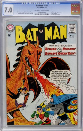 Batman 155 in CGC 7.0 represents good value for money in our book. Click to buy a copy