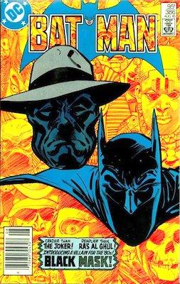 Batman #386 (1985): 1st Appearance of Black Mask. Click for values