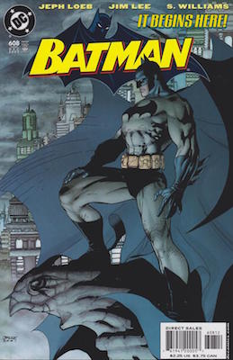 Batman #608 (2002) Rare 2nd Printing. Click for value