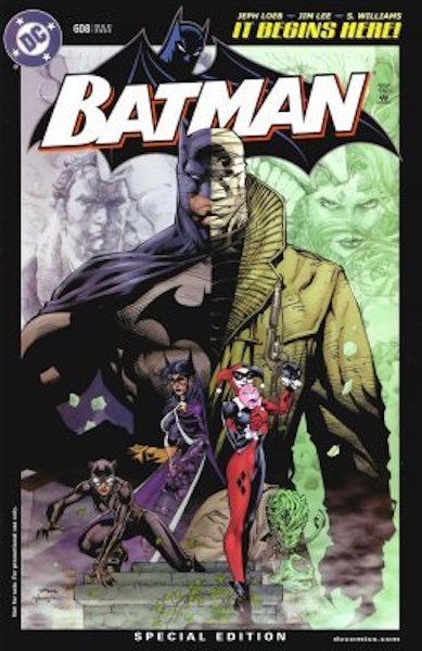#2: Batman 608 Retailer Incentive Edition (RRP) Lee (2002). Click for values