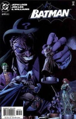 Batman #619: 2nd printing variant comic, Riddler cover. Click for values