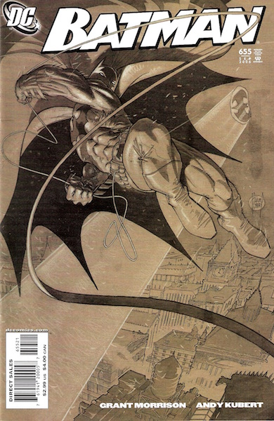 #86: Batman 655 Kubert Variant Comics (2006). Click for values