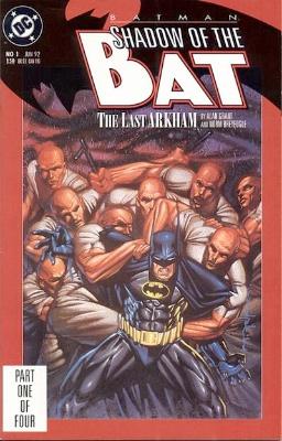 Origin and First Appearance, Zsasz, Batman: Shadow of the Bat #1, DC Comics, 1992. Click for value