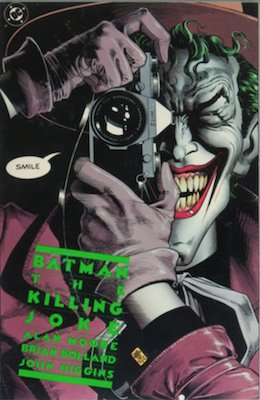 Batman the Killing Joke (1988):Joker Origin Retold; Paralyzes Barbara Gordon. Click for value