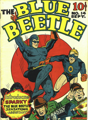 The Blue Beetle #14. Click for current values.