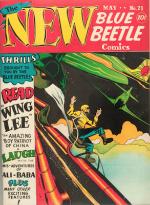 The Blue Beetle #21. Click for current values.