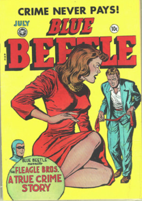 The Blue Beetle #57. Click for current values.
