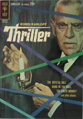 Boris Karloff Thriller #1, Gold Key Comics. Click for values
