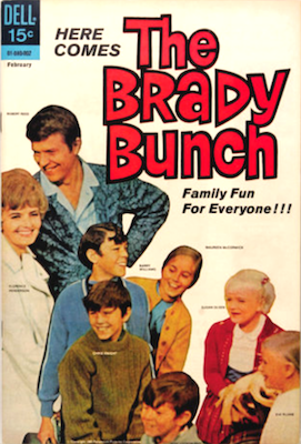 Brady Bunch #1 (1970), Dell Comics Publishing. Click for values