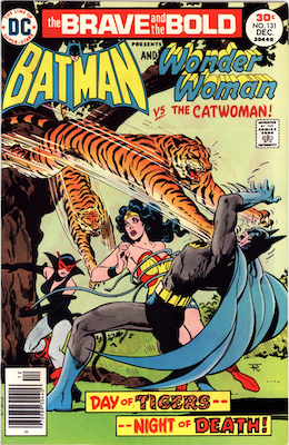 Brave and the Bold #131: Catwoman Cover. Click for values