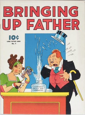 Bringing Up Father: Dell Large Feature Comic #9. Click for values