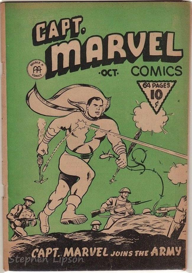 Captain Marvel v1 #10