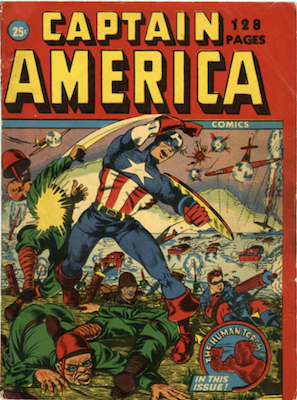 Captain America 128-Page Issue: Extremely rare comic book!