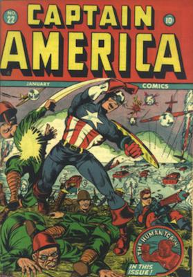Captain America Comics #22. Click for current values.