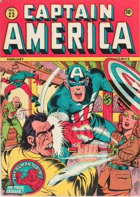 Captain America Comics #23. Click for current values.