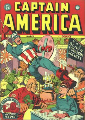 Captain America Comics #24. Click for current values.