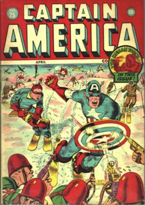 Captain America Comics #25. Click for current values.