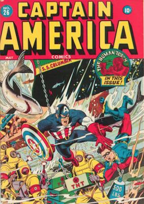 Captain America Comics #26. Click for current values.