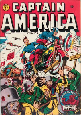 Captain America Comics #27. Click for current values.
