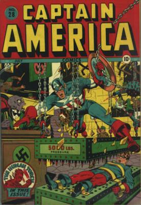 Captain America Comics #28. Click for current values.