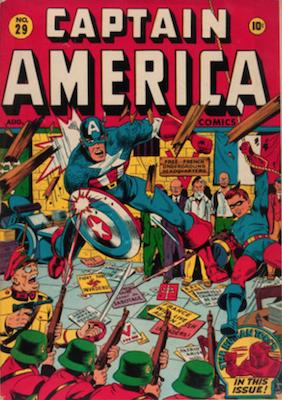 Captain America Comics #29. Click for current values.