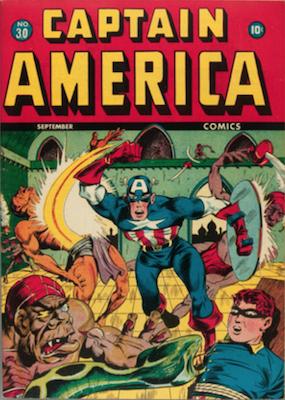 Captain America Comics #30. Click for current values.