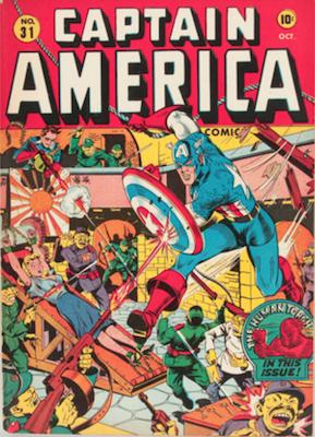 Captain America Comics #31. Click for current values.